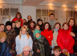 Christmas at Kalininsky Orphanage